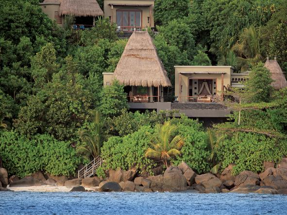 Maia Luxury Resort & Spa - villa on hillside
