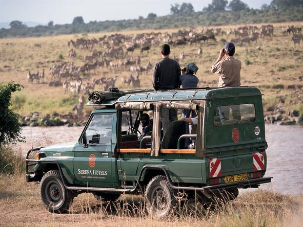 Mara Serena Safari Lodge - Game Drive