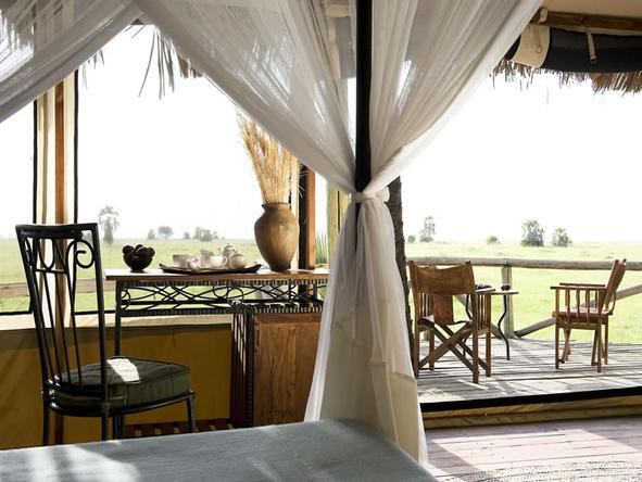 Maramboi Tented Camp - Private Deck