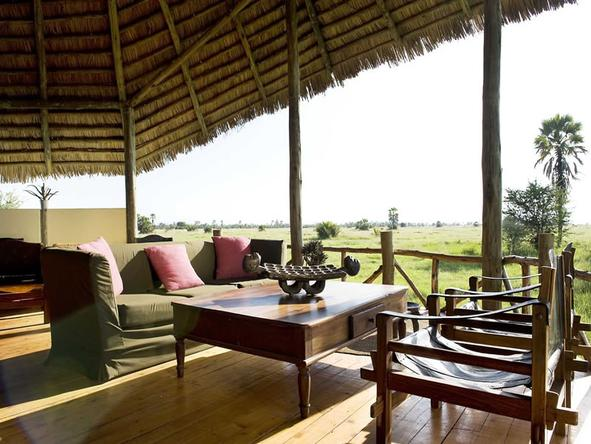 Maramboi Tented Camp - Lounge