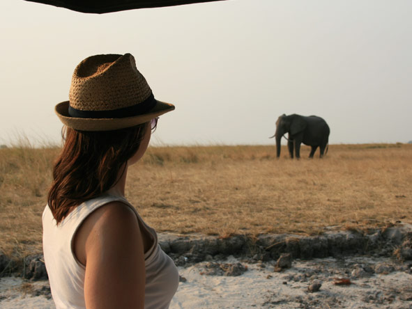 Mary Keet - enjoying the magic of Africa on safari