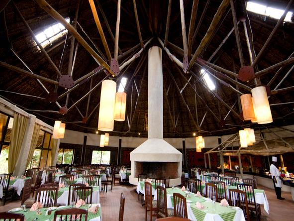 Masai Mara Sopa Lodge - Dining Room