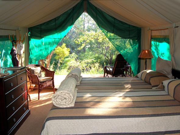 Mashatu Tented Camp - Bedroom