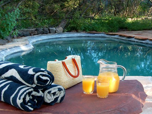 Mashatu Tented Camp - Pool