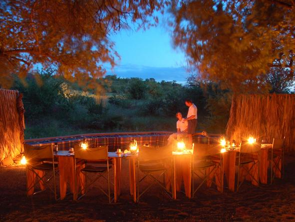 Mashatu Tented Camp - Dining
