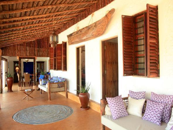 Matemwe Beach House - Outside Lounge