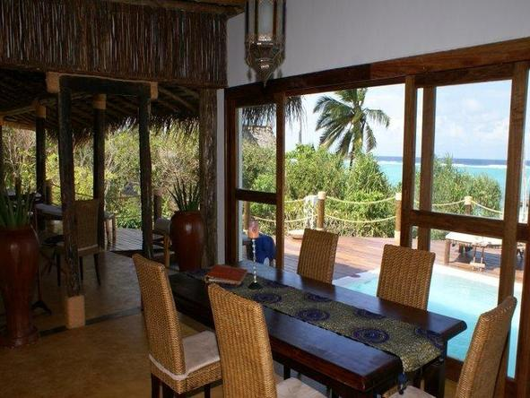 Matemwe Beach House - Dining2
