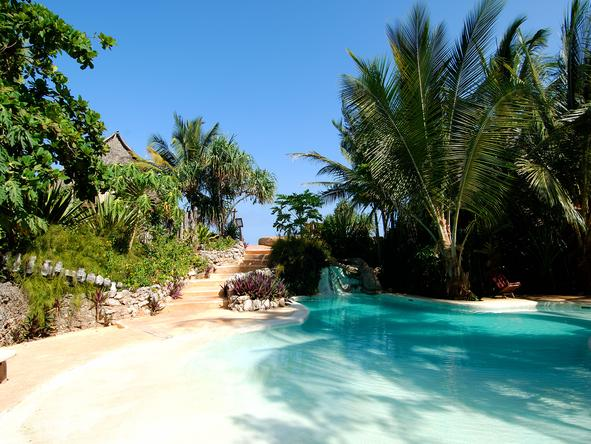 Matemwe Lodge - pool