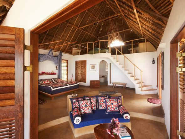 Matemwe Lodge - bedroom suite