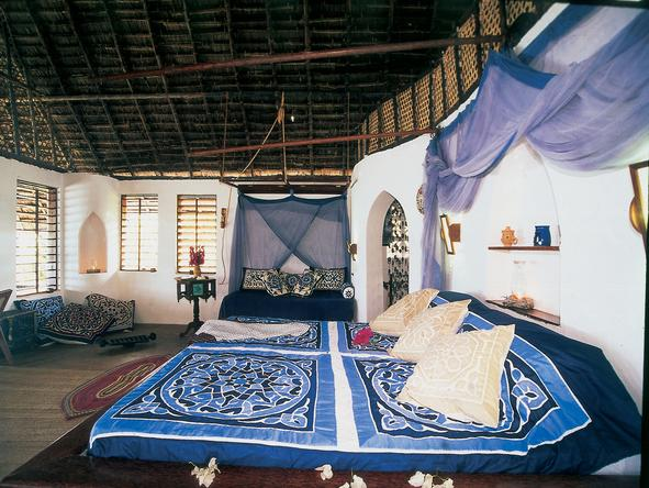 Matemwe Lodge - bedroom