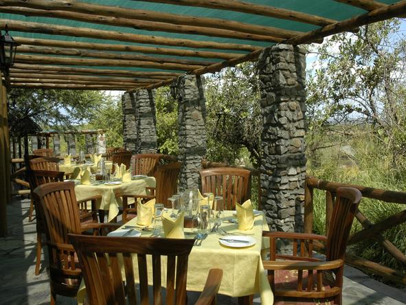 Mbuzi Mawe Tented Camp - Restaurant