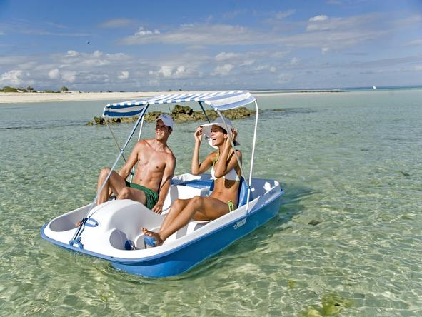 Medjumbe Private Island - pedal boating