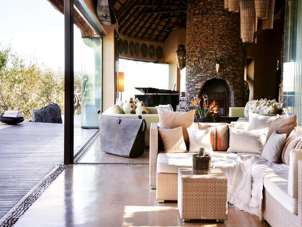 Molori Safari Lodge - Lounge