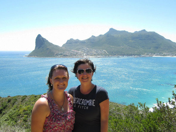 Monique Roden - a summer's day in Cape Town overlooking Hout Bay