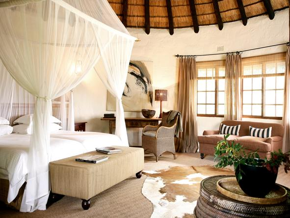 Motswari Game Lodge - Bedroom1