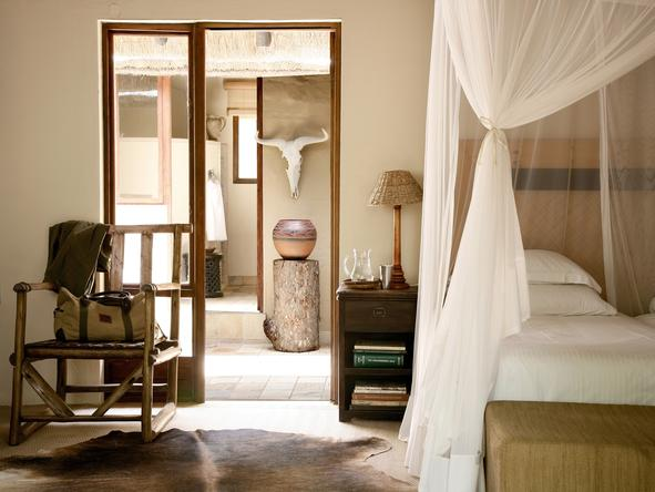 Motswari Game Lodge - En Suite Bathroom