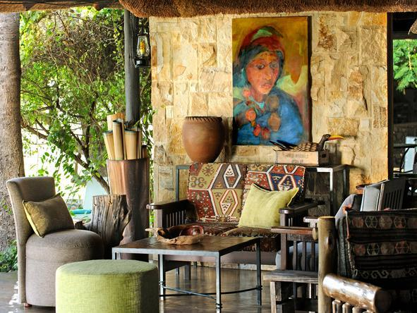 Motswari Game Lodge - Lounge1