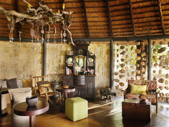Motswari Game Lodge - Lounge2