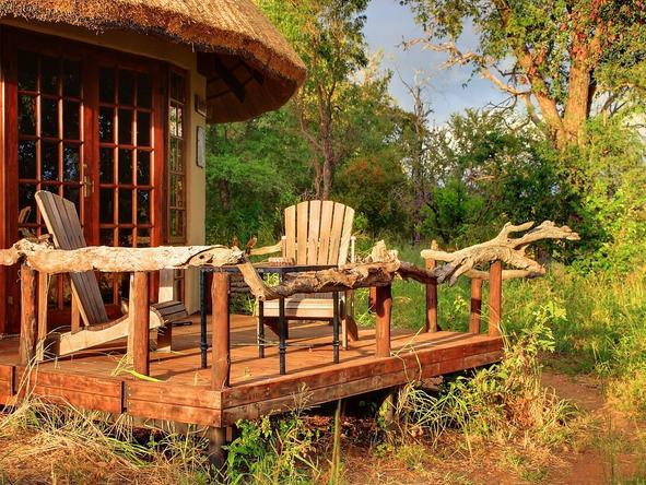 Motswari Game Lodge - Private Deck