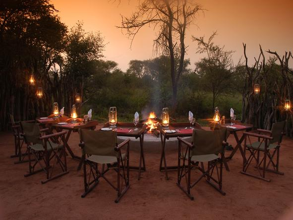 Motswiri Private Safari Lodge - Boma