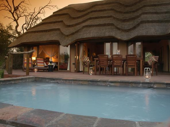 Motswiri Private Safari Lodge - Pool
