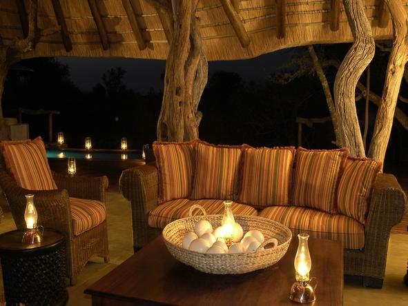 Motswiri Private Safari Lodge - Lounge