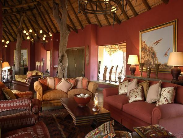 Motswiri Private Safari Lodge - Lounge2