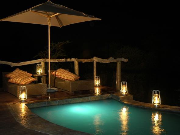Motswiri Private Safari Lodge - Plunge Pool
