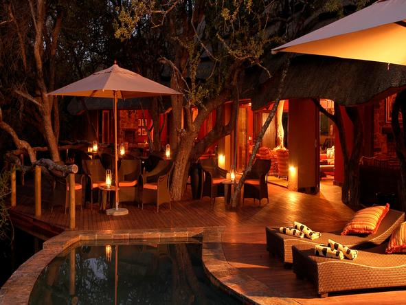 Motswiri Private Safari Lodge - Pool Side