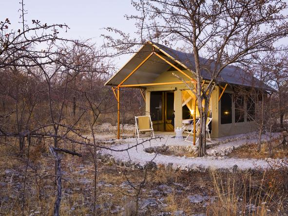 Mushara Bush Camp - Exterior