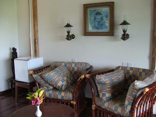 Mweya Safari Lodge - Sitting Area
