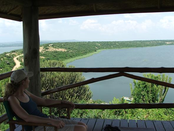 Mweya Safari Lodge - View