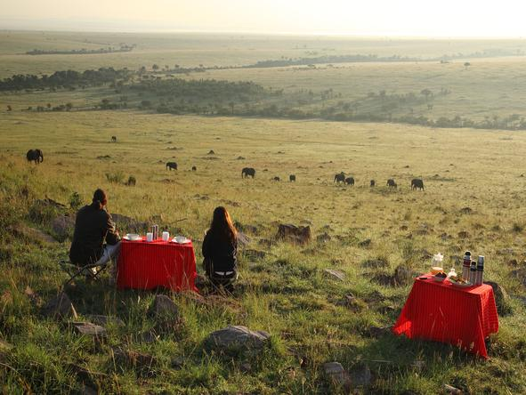 Naibor Luxury Camp - Bush Dining