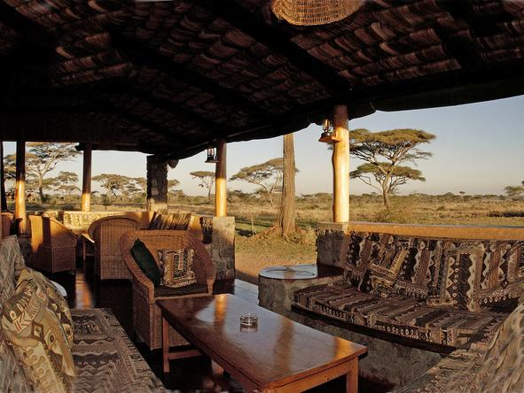 Ndutu Safari Lodge - Lounge