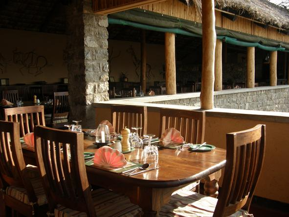 Ndutu Safari Lodge - Dining