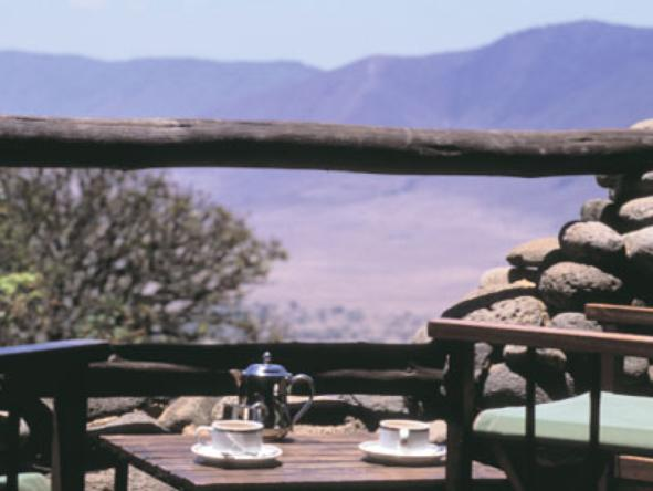 Ngorongoro Serena Safari Lodge - Deck