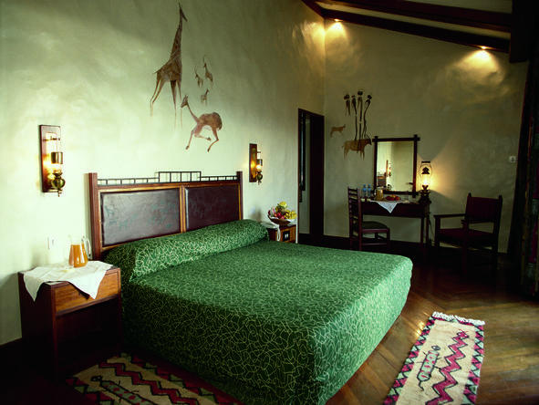 Ngorongoro Serena Safari Lodge - Bedroom1
