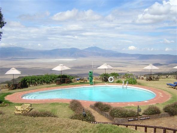 Ngorongoro Sopa Lodge - View