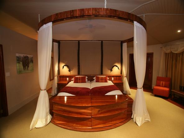 Ntwala Island Lodge - bedroom