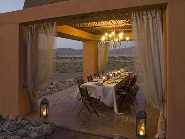 Okahirongo Elephant Lodge - Dining