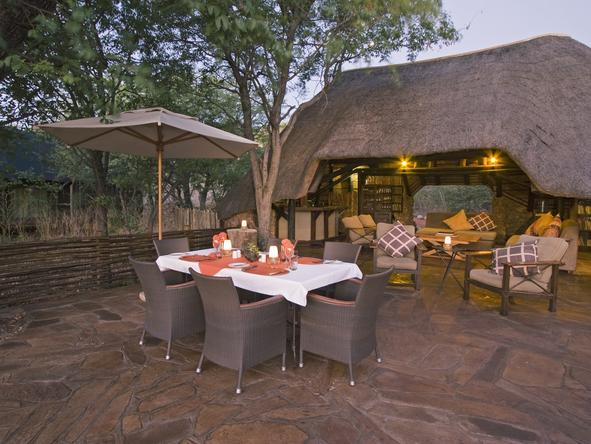 Ongava Tented Camp - outdoor dining