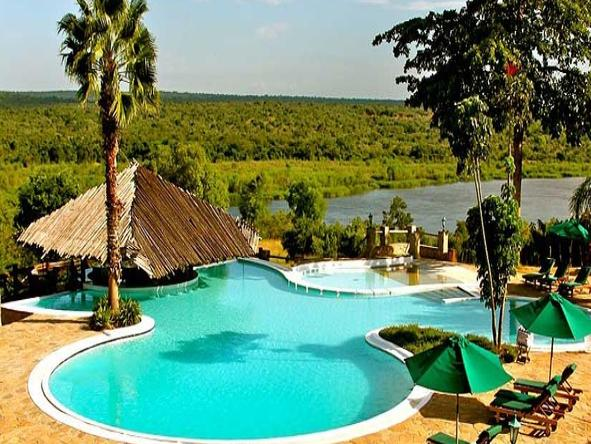 Paraa Safari Lodge - Pool