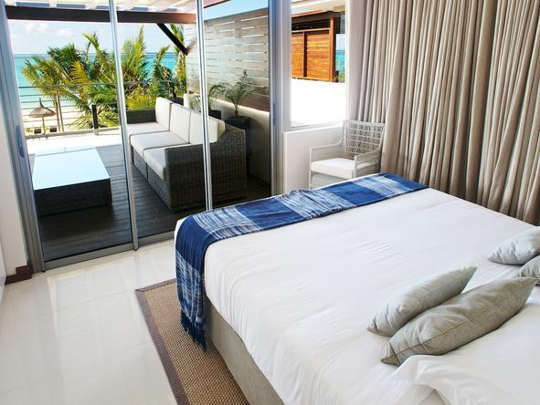 Paradise Beach -  Luxury Apartments -Bedroom1