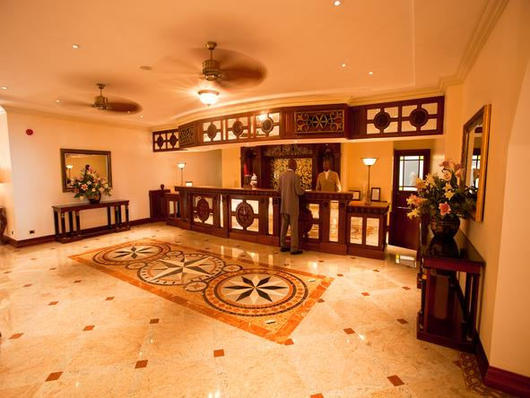 Polana Serena Hotel -Entrance Hall