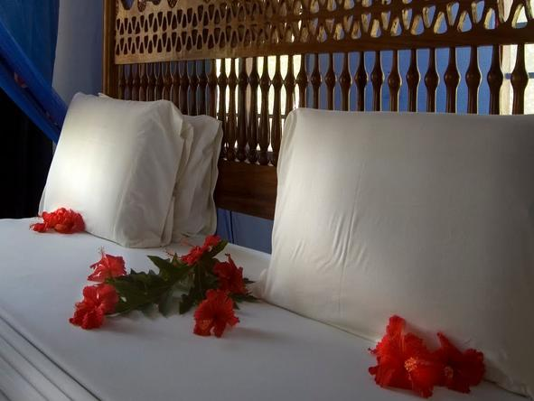 Pongwe Beach Hotel - Bedroom