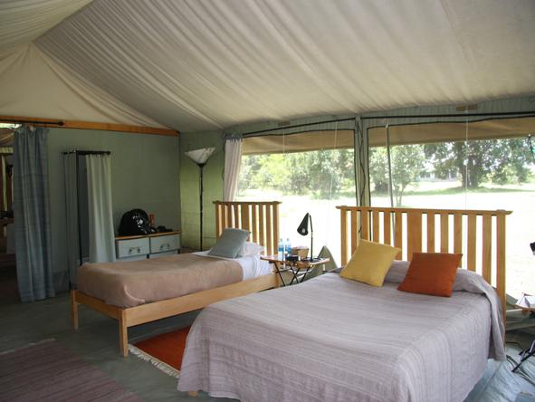 Porini Lion Camp - Bedroom