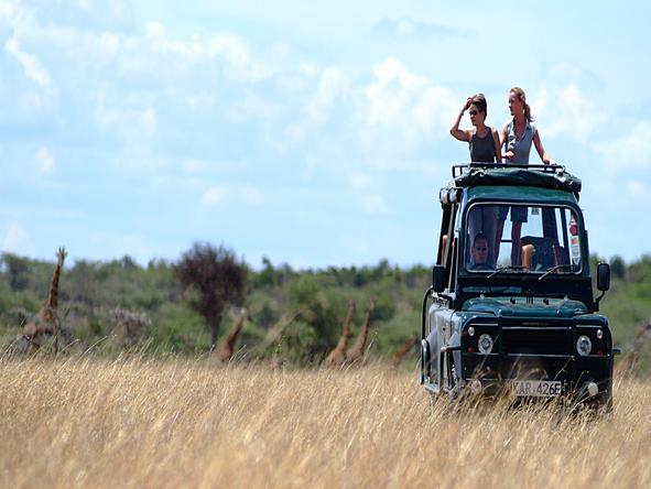 Porini Mara Camp - Game Drive