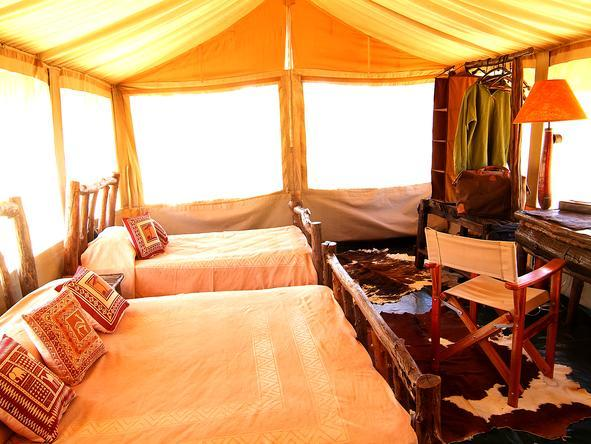 Porini Mara Camp - Sleeping Tents