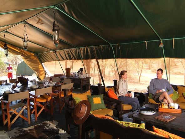 Porini Mara Camp - Lounge