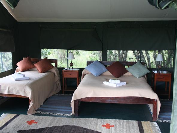 Porini Rhino Camp - Tents